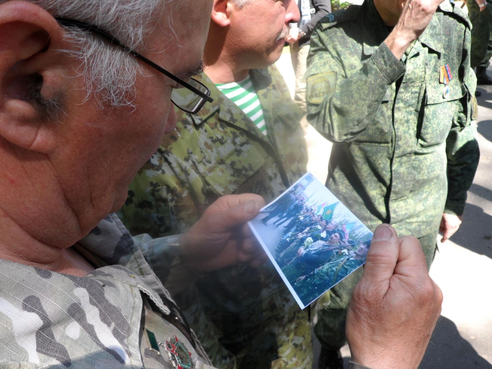 2017-05-28. Донецк (ДНР) Многих из тех, кто на фото уже нет в живых... фото сделано в 2014-м, шли в аэропорт