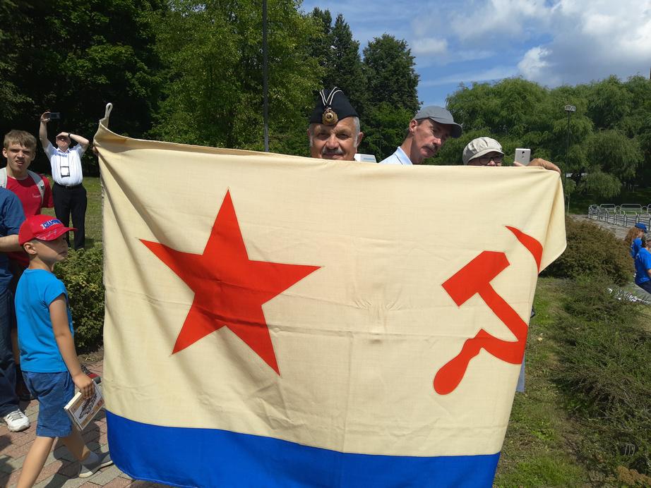 Самый настоящий военно-морской флаг СССР