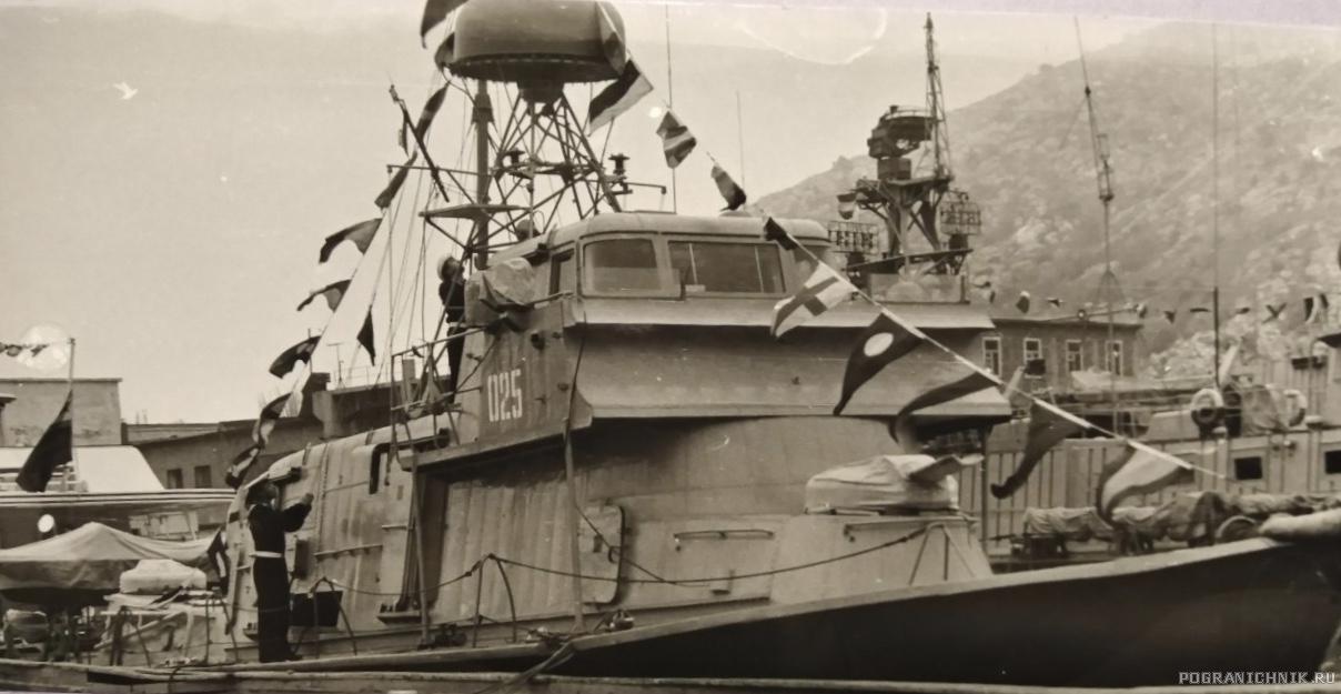 На ремонте, Балаклава, 1980г