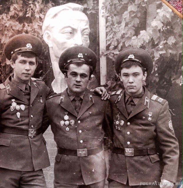 ноябрь 84-86 в/ч 2446 Взвод Обс.