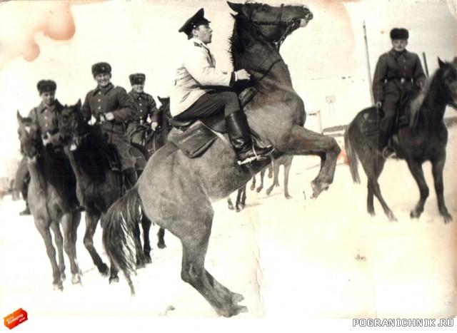 Пограничная кавалерия  КВПО. (3)