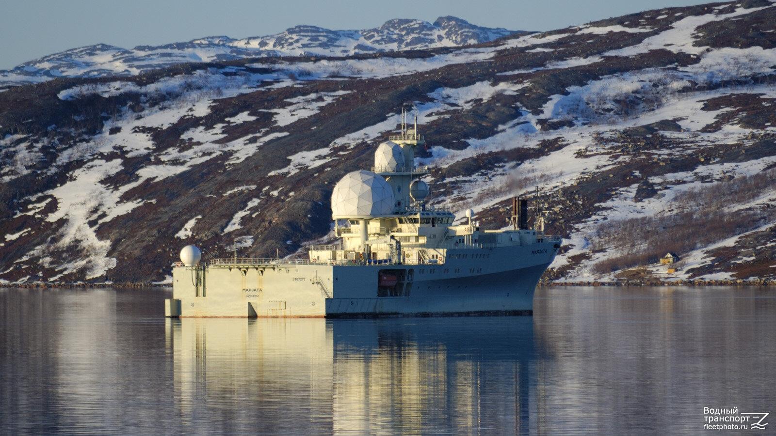 """""""Марьята"""" ВМС Норвегии"""